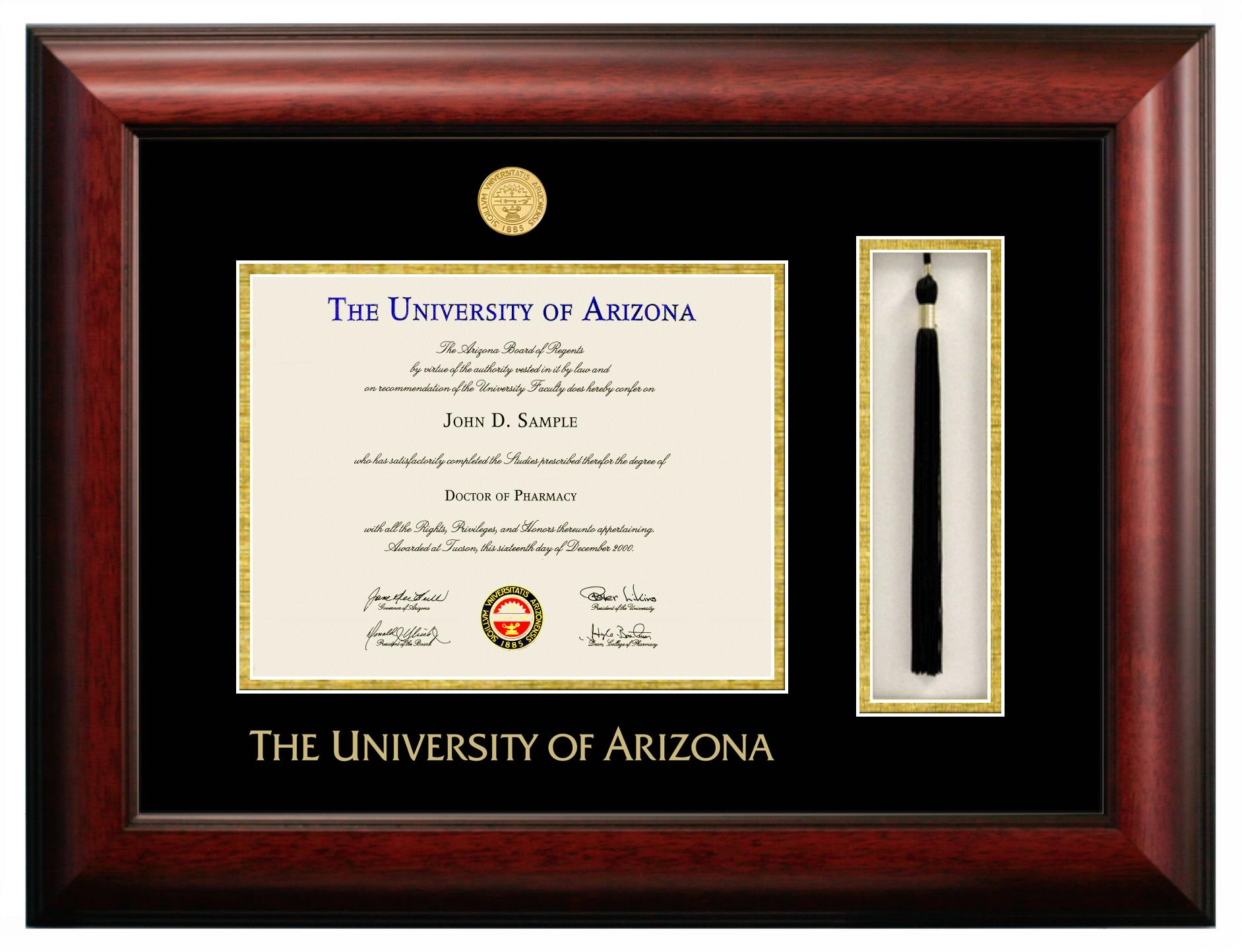 University of Arizona | Custom Diploma Frames | University Frames